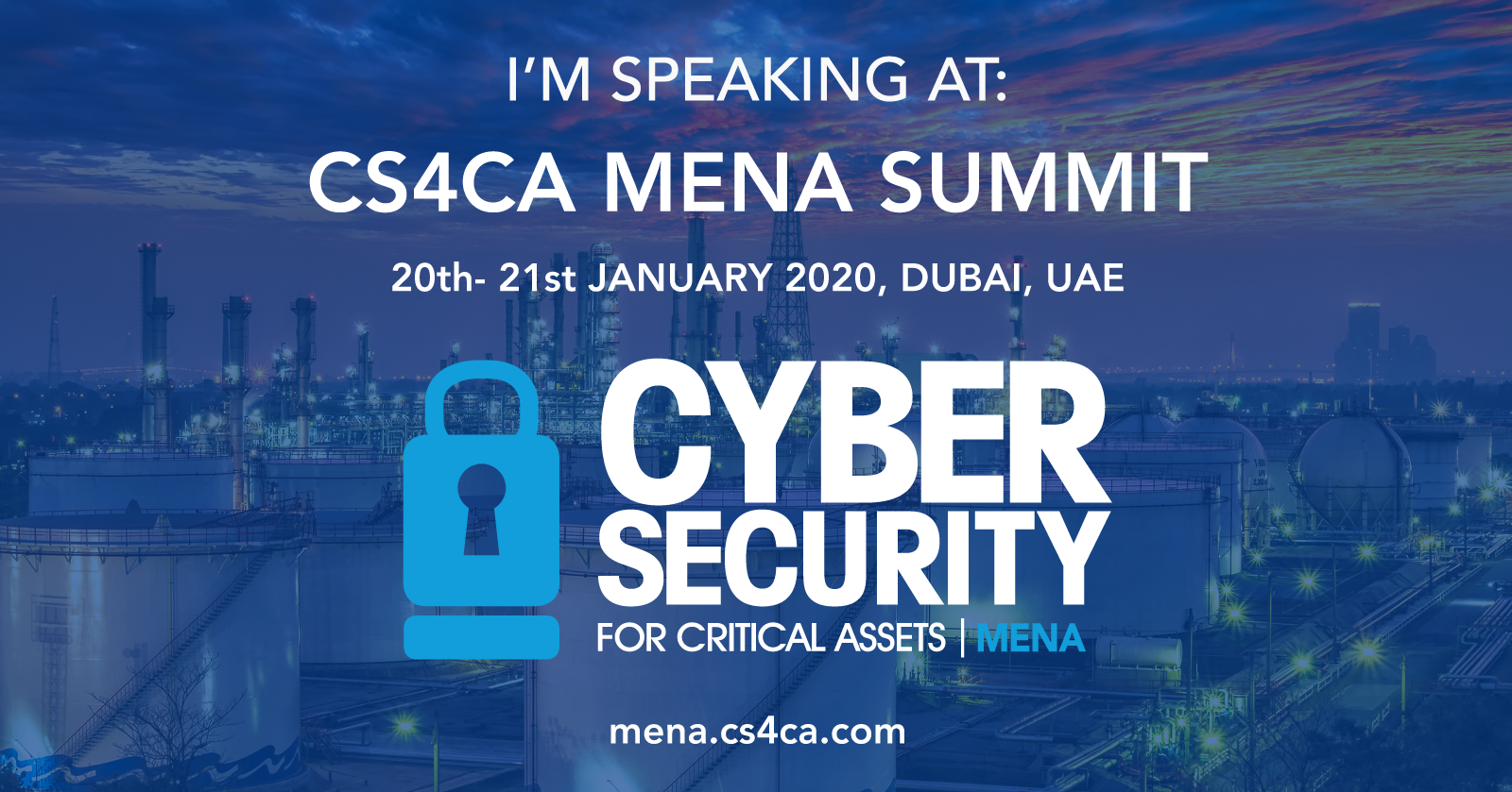 cs4ca cyber security for critical assets mena dubai erdem aksoy